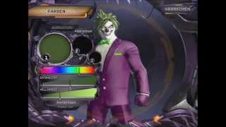 Dc universe online character creation joker