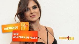 Ana Paula de Paula - Treino de Ombros