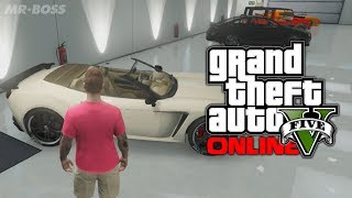 GTA 5 Online: Custom Car Showcase! My Garage Tour! (GTA V