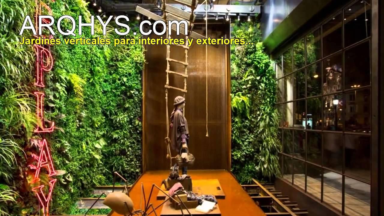 Ideas para construir un jardin vertical youtube - Construir jardin vertical ...
