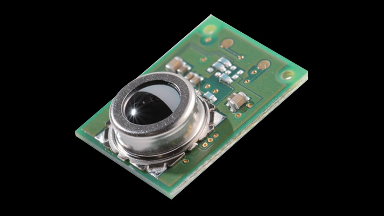 omron d6t mems thermal sensor youtube
