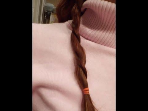 Peinado: Como hacer trenzas de tres cabos (normal)