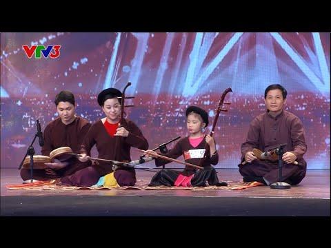 Vietnam's Got Talent 2016 - TẬP 01: Tài Năng Nhí hát XẨM thần tượng Nghệ Nhân Hà Thị Cầu