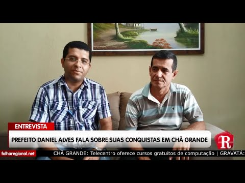 Entrevista do Prefeito Daniel Alves ao jornal Folha Regional