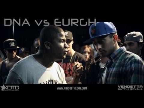 KOTD - Rap Battle - DNA vs Eurgh