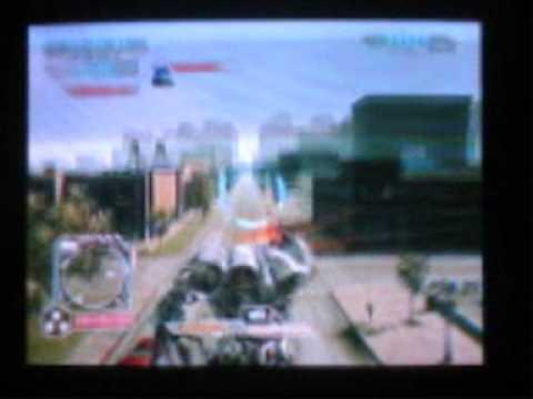 Transformers 2 Revenge of the Fallen Xbox 360 Gameplay of MEGATRON Vs Optimus Prime