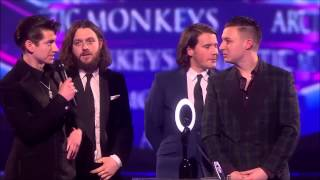 Palabras De Alex Turner En Los Brit Awards 2014 (Sub