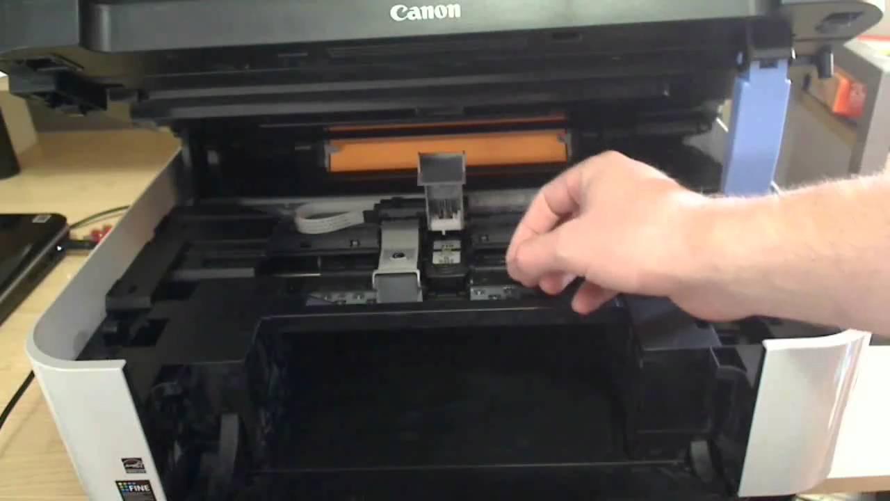 Canon Printer Change Ink Cartridge