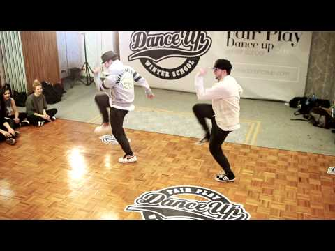 EZtwins | Fair Play Dance Up winter school 2014 | Warsaw, Poland