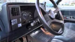 1991 Chevrolet Silverado Start Up, Exhaust, And In Depth