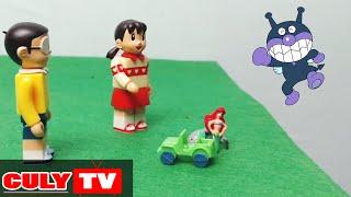 Doremon đồ chơi vui #1 - Xuka gặp nàng tiên cá và Ku Đen siêu quậy doremon - Funny Doraemon