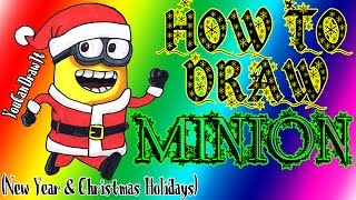 How To Draw New Year Minion YouCanDrawIt ツ 1080p HD