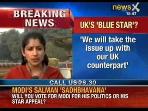 UK's Blue Star: We will take the issue up with our UK counterpark, says MEA