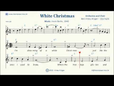 Im Dreaming Of A White Christmas Sheet Music