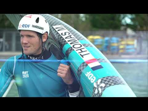 Champions d'ici : Martin Thomas, canoë-kayak