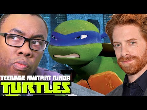 SETH GREEN is LEONARDO in NINJA TURTLES : Black Nerd