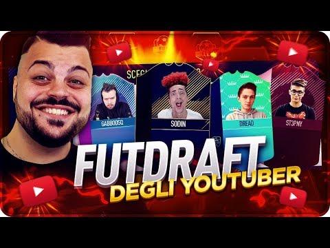 YOUTUBERS FUT DRAFT CHALLENGE !!! [FIFA 18]