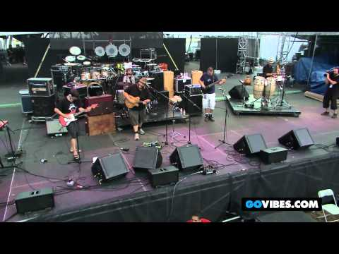 "Zach Deputy Band Performs ""Ain't Nothin' but a Groove"" at Gathering of the Vibes Music Festival 2012"