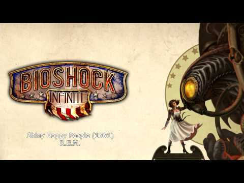 Bioshock Infinite Music - Shiny Happy People (1991) by R.E.M.