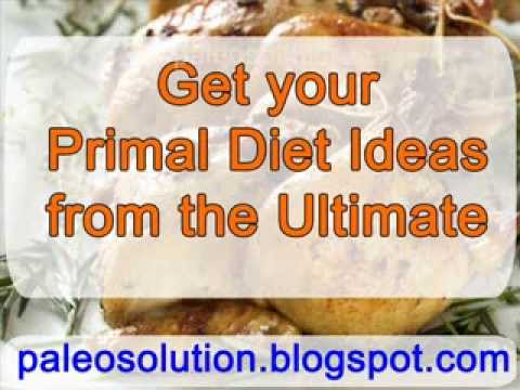 Primal Diet - Paleo Recipe Book
