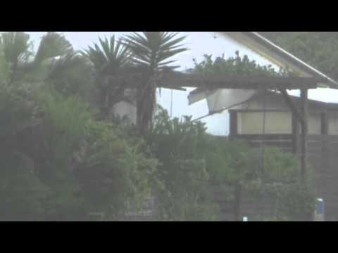 Dramatic footage: Landslide caused by Typhoon Neoguri sweeps through mountain