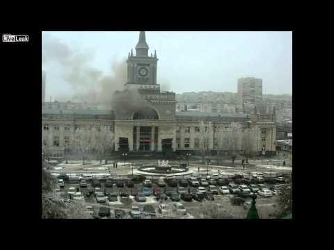 Female Suicide Bomber Blamed For Russia Blast (Blast Video) No Audio.