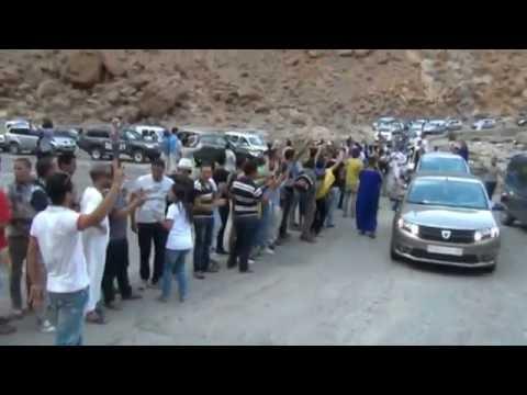 شاهد .. اكبر قافلة في تاريخ الجنوب الشرقي المغربي