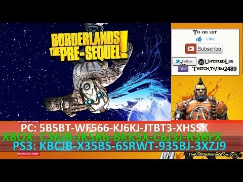 Borderlands the pre sequel shift codes get free golden share the