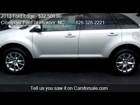 2013 Ford Edge SEL - for sale in Hickory, NC 28602