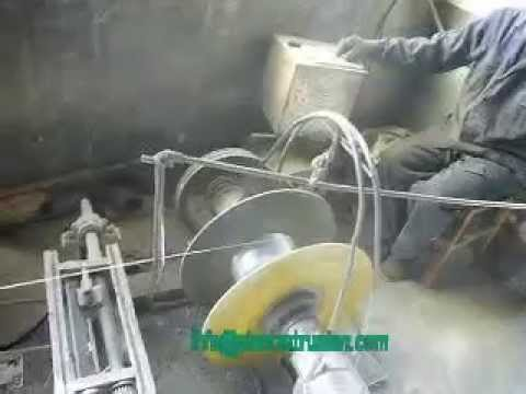 stainless steel flexible hose extrusion machine