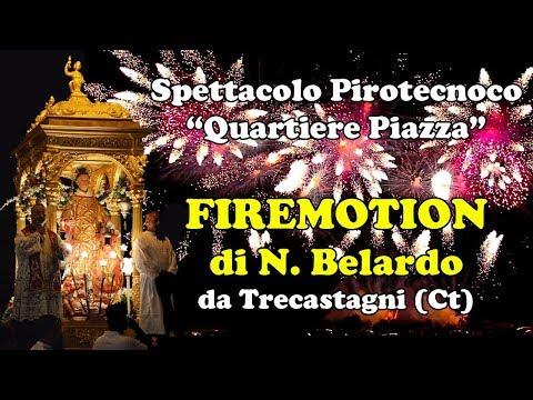 ACIBONACCORSI (Ct) - Santo Stefano 2017 - FIREMOTION di N. Belardo