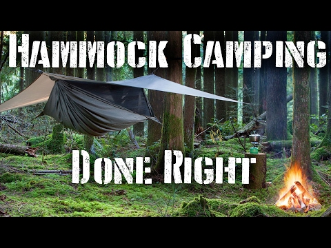 Hammock Camping Done Rite: Tips and Required Gear