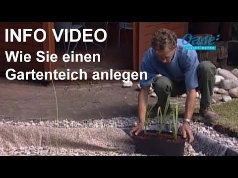 Gartenteich anlegen video wie sie einen gartenteich selber bauen schritt f r schritt youtube - Biotop anlegen anleitung ...