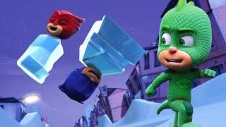 PJ Masks Full Episodes - GEKKO'S NICE ICE PLAN - 1 Hour Christmas Special