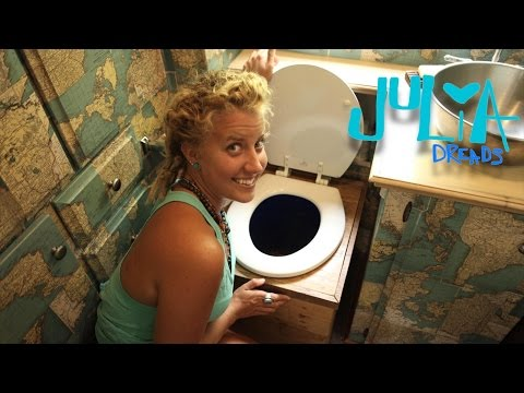 COMPOSTING TOILET...it's not GROSS