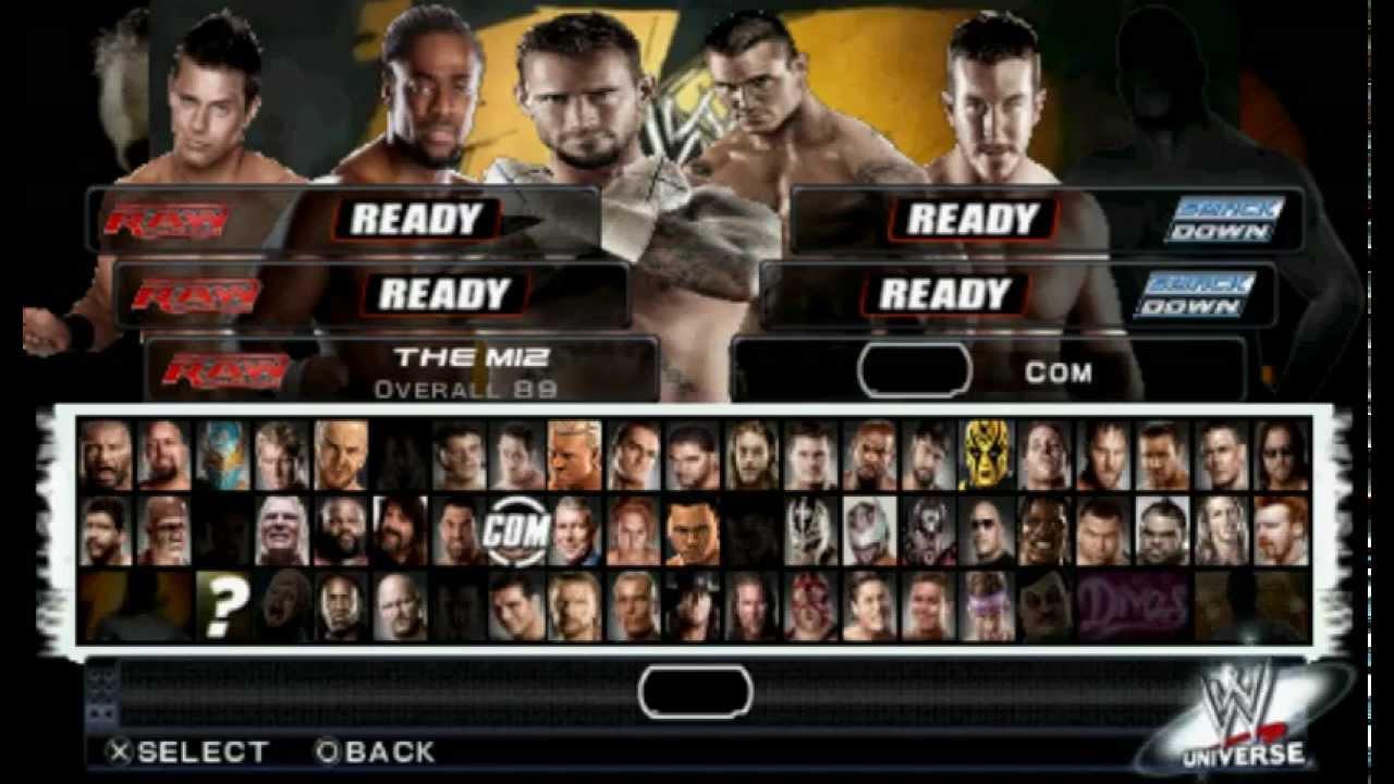 WWE'12 PSP HACK : ATTIRES TEXTURE MODS (svr 2011 psp hack) - YouTube