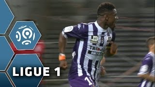 Goal Serge AURIER (90' +3) - Toulouse FC-LOSC Lille (1-2) - 05/04/14 - (TFC-LOSC)