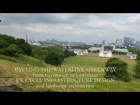 Green Cycle Infrastructure Design UK & the landscape architecture of Waterlink Greenway