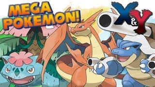 Pokémon X And Y : Mega Kanto Starter Pokémon Details