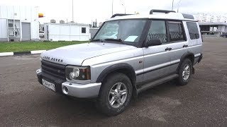 Powerful 4X4 Land Rover Discovery 2. Start Up, Engine, and In Depth Tour.. MegaRetr