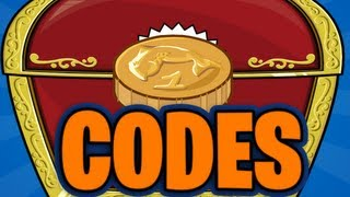 Club Penguin Codes 70,000 Coins + 18 Items August 2014