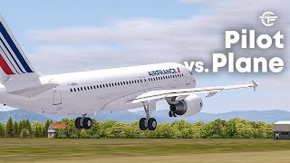 Pilot VS Plane | Airbus A320 Crash During an Airshow | Air France Flight 296