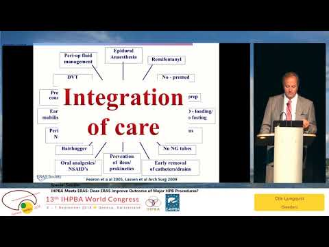 SS01.1 IHPBA Meets ERAS: Does ERAS Improve Outcome of Major HPB Procedures?