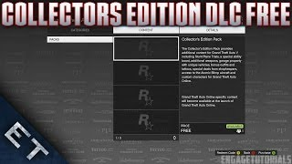 GTA 5 Online How To Download The Collectors Edition DLC