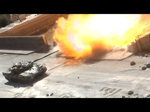 ᴴᴰ Syria ♦ Tanks with GoPro™ ♦ T-72 Tank destroyed in Jobar ٭ˢᵘᵇᵗᶥᵗᴵᵉˢ٭