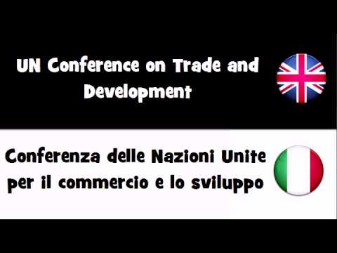 Say it in 20 languages # UN Conference on Trade and Development