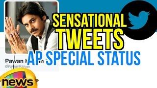 Pawan Kalyan's sensational tweets on AP Special Status