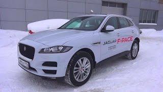 2016 Jaguar F-Pace (X761) 2.0d AWD. Обзор (интерьер, экстерьер, двигатель).. MegaRetr