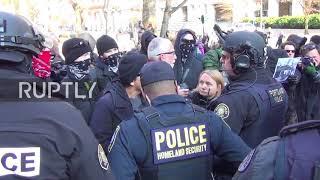 USA: Portland's Patriot Prayer brawl with Antifa after 'not guilty' verdict