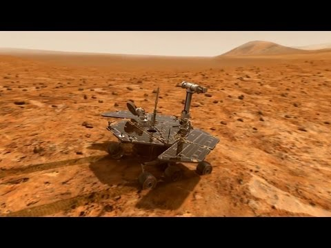 Celebrating the Opportunity rover's tenth anniversary on Mars